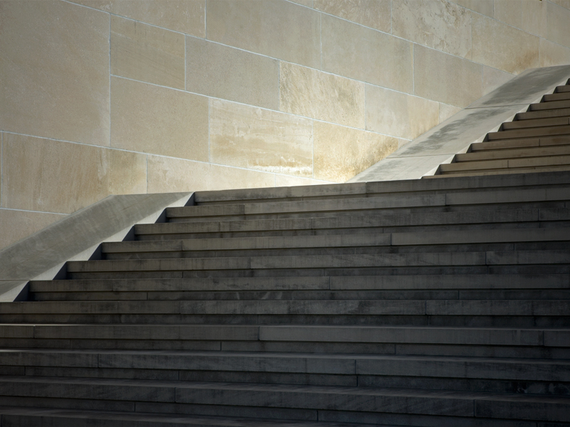 Steps at Kansas City's Liberty Memorial