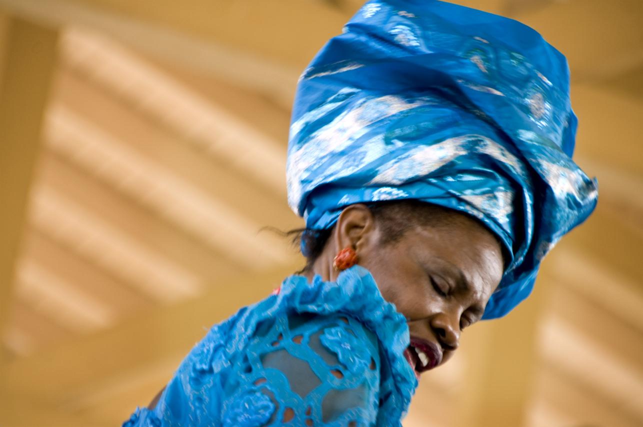 Nigerian Dancer at Ethnic Enrichment Festival