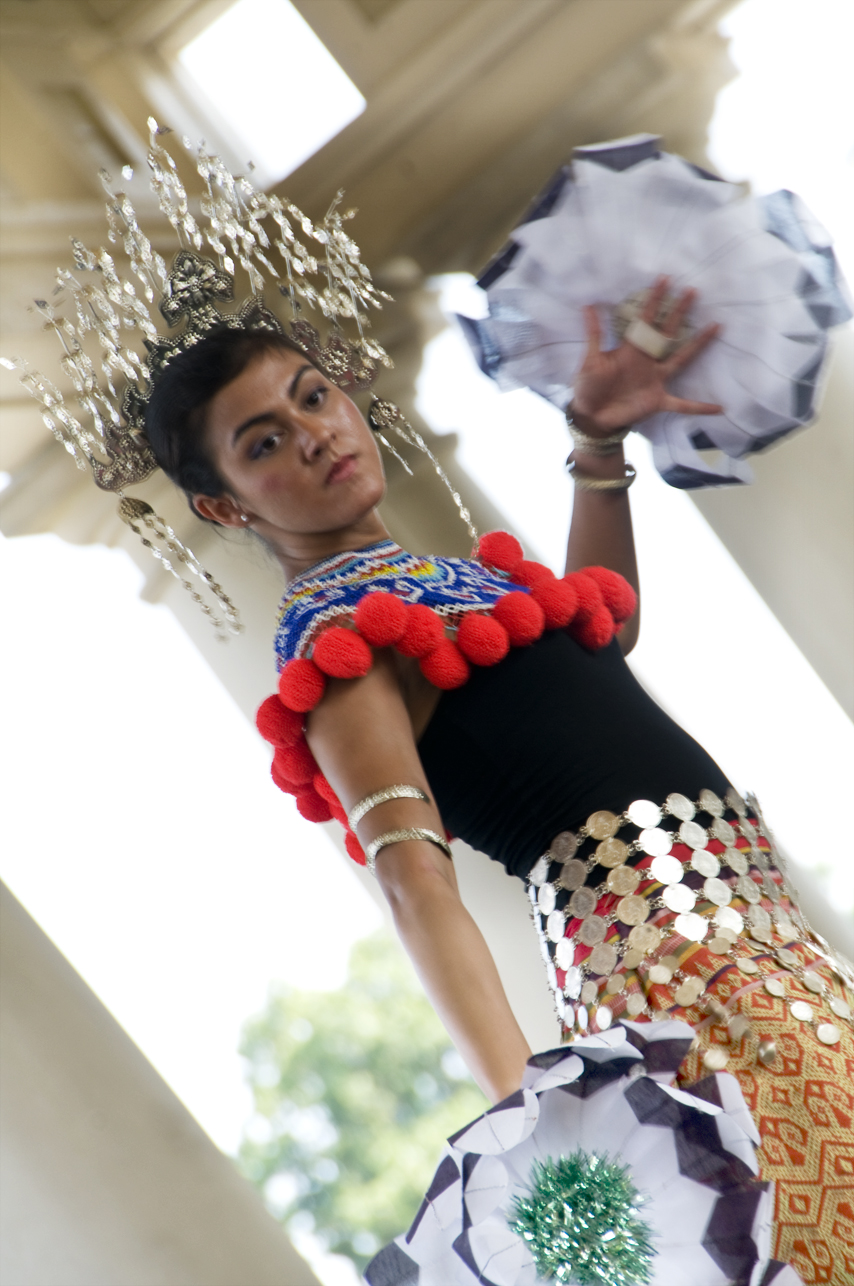 Malaysian Dancer at Ethnic Enrichment Festival