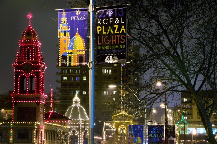 Kansas City Plaza\'s Christmas Lights