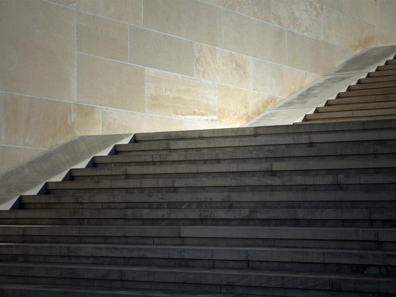 Steps at Kansas City's Liberty Memorial