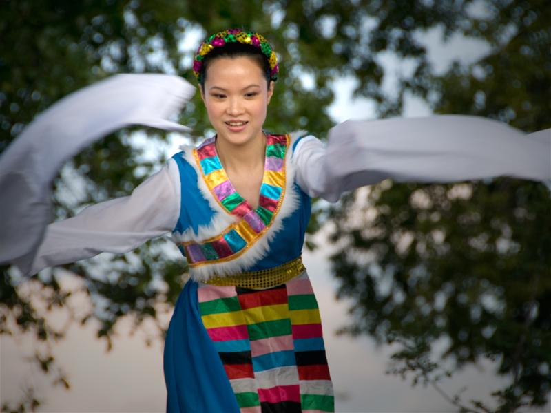 KC Ethnic Festival Dancer